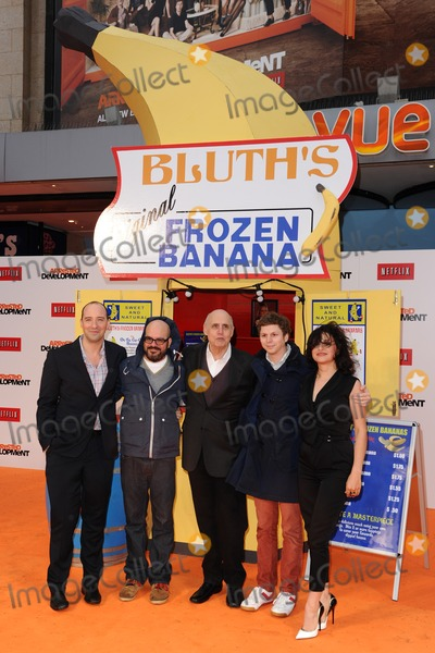 Arrested Development Photo - Tony Hale David Cross Jeffrey Tambour Michael Cera and Alia Hawkat arriving for the Arrested Development Season Four  premiere at the Vue Leicester Square London 09052013 Picture by Steve Vas  Featureflash