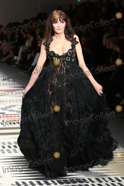 Annabelle Neilson Photo - Annabelle Neilson at the LFW Fashion For Relief charity fashion show - catwalk held at Somerset house London 19022015 Picture by James Smith  Featureflash