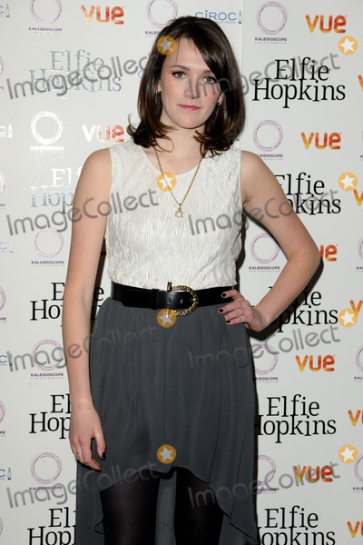 Charlotte Ritchie Photo - Charlotte Ritchie arrives for the Elfie Hopkins  premiere at the Vue cinema Leicester Square London 16042012 Picture by Steve Vas  Featureflash
