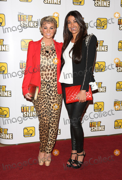 Billie Mucklow Photo - Billi Mucklow and Cara Kilbey arriving for Disneys Let It Shine TV Premiere at The May Fair hotel London England 16072012 Picture by Henry Harris  Featureflash