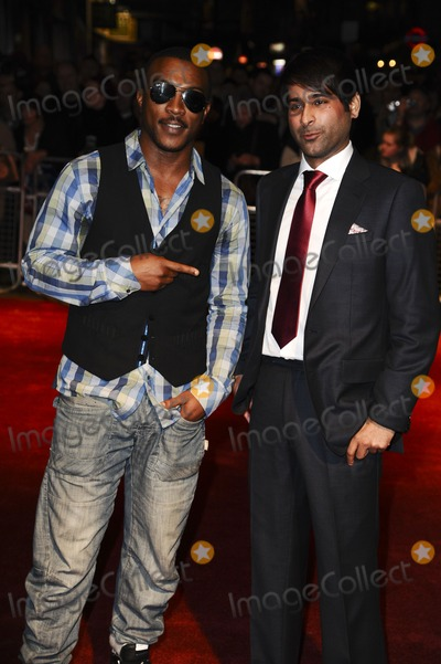 Nirpal Bhogal Photo - Nirpal Bhogal and actor Ashley Walters arrives for the premiere of Sket as part of the London Film Festival 2011 at the Vue West End London 22102011 Picture by Steve Vas  Featureflash