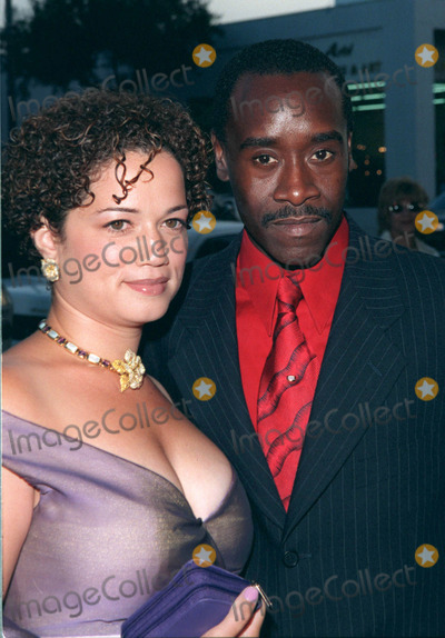 The Rat Pack Photo - 18AUG98  Actor DON CHEADLE  wife BRIDGIT COULTER at the Beverly Hills premiere of HBOs The Rat Pack He plays Sammy Davis Jr in the movie which is based on the lives of Frank Sinatra Dean Martin Peter Lawford  Joey Bishop