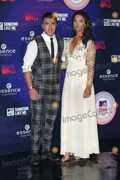 James Tindale Photo - James Tindale Girlfriend arriving at the MTV European Music Awards (EMAs)  2014 held at the The Hydro Glasgow Scotland 09112014 Picture by James Smith  Featureflash