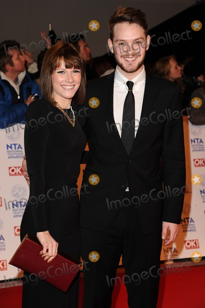John Whaite Photo - Cat Dresser and John Whaite arriving for the National Television Awards 2013 at the O2 Arena London 23012013 Picture by Steve Vas  Featureflash