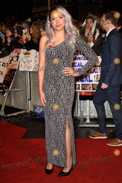 Aisha Kazim Photo - Aisha Kazim at the world premiere of The Hunger Games Mockingjay Part 2 at the Odeon Leicester Square LondonNovember 5 2015  London UKPicture Steve Vas  Featureflash