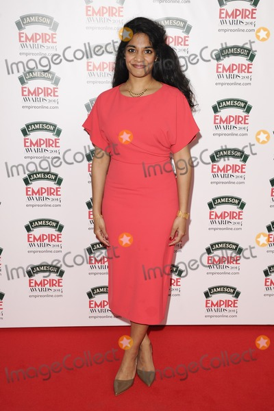 Amara Karan Photo - Amara Karanarives for the Empire Magazine Film Awards 2014 at the Grosvenor House Hotel London 30032014 Picture by Steve Vas  Featureflash