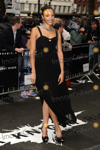 Amal Fashanu Photo - Amal Fashanu arriving for European premiere of The Dark Knight Rises at the Odeon Leicester Square London 18072012 Picture by Steve Vas  Featureflash