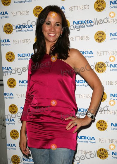 Andrea Mclean Photo - Andrea McLean arriving for the Jeans For Genes Launch Party at Kettners London 06092011  Picture by Alexandra Glen  Featureflash