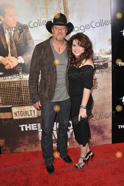 Trace Adkins Photo - Trace Adkins  wife at the Los Angeles premiere of his new movie The Lincoln Lawyer at the Cinerama Dome HollywoodMarch 10 2011  Los Angeles CAPicture Paul Smith  Featureflash