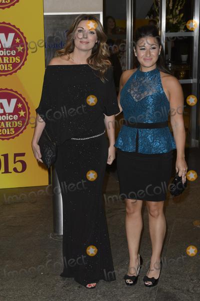 Alison King Photo - Alison King  Hayley Tamaddon at the 2015 TV Choice Awards at the Hilton Hotel Park Lane LondonSeptember 7 2015  London UKPicture Dave Norton  Featureflash