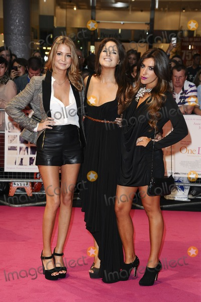 Alexandra Felstead Photo - Millie Mackintosh Alexandra Felstead and Gabriella Ellis arriving for the European Premiere of One Day at Westfield west London 23082011  Picture by Steve Vas  Featureflash
