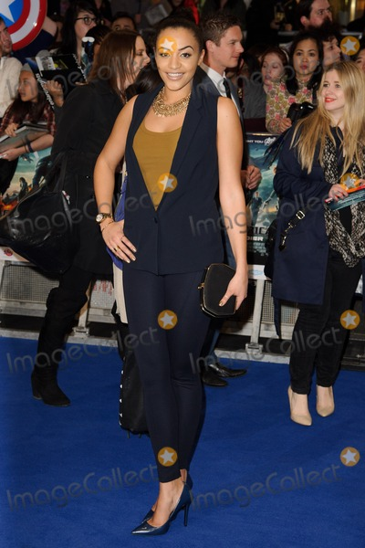 Amal Fashanu Photo - Amal Fashanu arriving at the Captain America The Winter Soldier UK Premiere Westfield London 20032014 Picture by Steve Vas  Featureflash