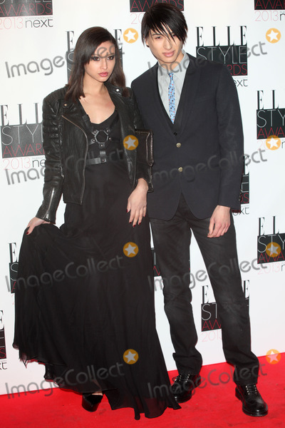 Nat Weller Photo - Leah and Nat Weller arriving at the 2013 Elle Style Awards at The Savoy London 11022013 Picture by Alexandra Glen  Featureflash