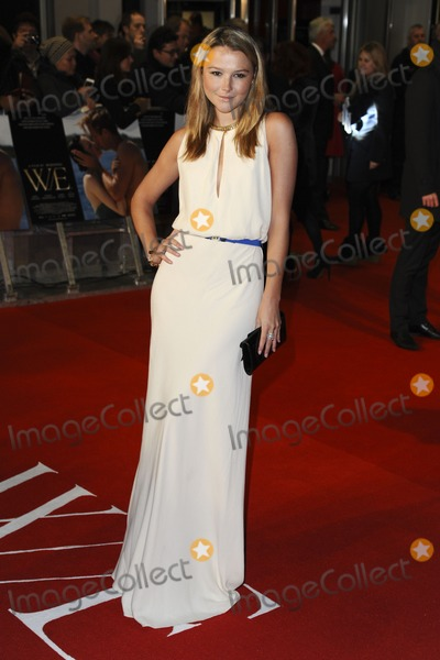 Amber Artherton Photo - Amber Artherton arriving for the premiere of WE at the Odeon Kensington London 11012012  Picture by Steve Vas  Featureflash
