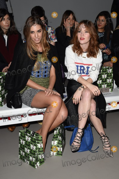 Angela Scanlan Photo - Amber Le Bon and Angela Scanlan at the Holly Fulton show as part of London Fashion Week AW15 at Somerset House London 21022015 Picture by Steve Vas  Featureflash