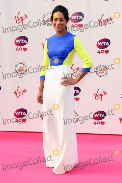 Anne Keothavong Photo - Anne Keothavong arriving for the WTA Pre-Wimbledon Party 2013 at the Kensington Roof Gardens London 20062013 Picture by Steve Vas  Featureflash