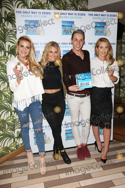Bobby Norris Photo - Lydia Bright Bobby Norris Danielle Armstrong Georgia Kousoulou arriving for the TOWIE Fragrance launch The Only Way is Essex stars launch their new perfume The Only Way is Marbs London England 06052015 Picture by James Smith  Featureflash