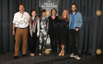 Sophie Rundle Photo - Steven Knight Sophie Rundle Helen McCrory Cillian Murphy Annabelle Wallis Otto Bathurst arriving for the UK premiere of Peaky Blinders held at the BFI Southbank London 21082013 Picture by Henry Harris  Featureflash