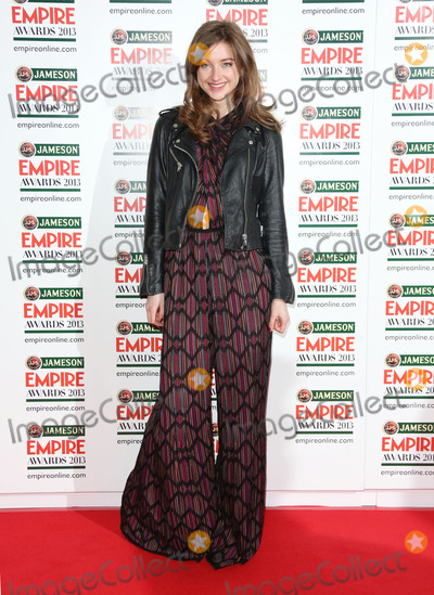 Antonia Clarke Photo - Antonia Clarke arrives for the Empire Film Awards 2013 at the Grosvenor House Hotel London 24032013 Picture by Henry Harris  Featureflash