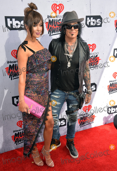 Nikki Sixx Photo - LOS ANGELES CA April 3 2016 Musician Nikki Sixx  wife Courtney Sixx at the iHeartRadio Music Awards 2016 at The ForumPicture Paul Smith  Featureflash