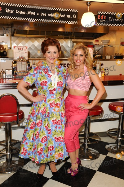 Cheryl Baker Photo - Cheryl Baker and Heidi Range at the photocall for Happy Days The Musical at Eds Easy Diner Trocadero London 08012014 Picture by Steve Vas  Featureflash