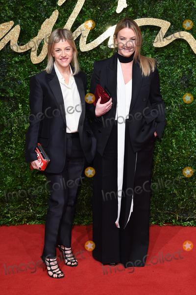 Anya Hindmarch Photo - Anya Hindmarch at the British Fashion Awards 2015 at the Coliseum Theatre LondonNovember 23 2015  London UKPicture Steve Vas  Featureflash