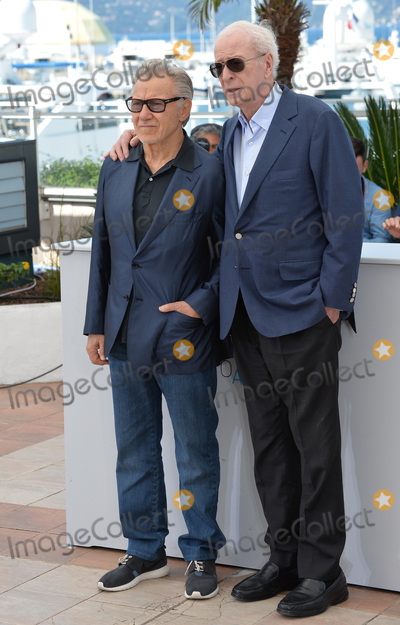 Michael Caine Photo - Michael Caine  Harvey Keitel (left) at the photocall for their movie Youth at the 68th Festival de CannesMay 20 2015  Cannes FrancePicture Paul Smith  Featureflash