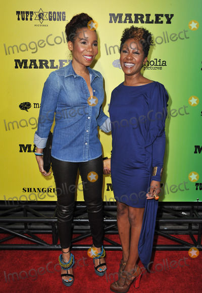Cedella Marley Photo - Cedella Marley (left) and Karen Marley at the Los Angeles premiere of Marley at the Cinerama Dome HollywoodApril 17 2012  Los Angeles CAPicture Paul Smith  Featureflash