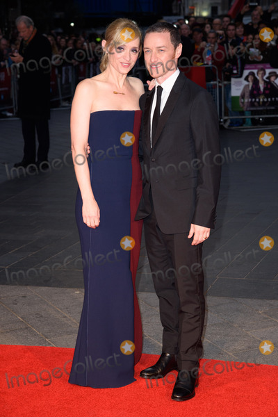 Anne-Marie Duff Photo - Anne Marie Duff  James McAvoy at the BFI London Film Festival premiere of Suffragette at the Odeon Leicester Square LondonOctober 7 2015  London UKPicture Steve Vas  Featureflash