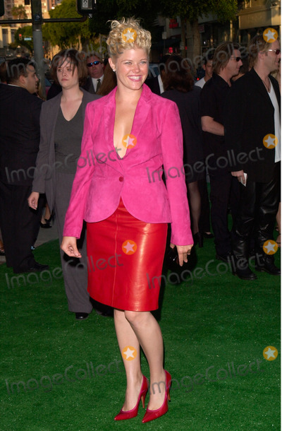 Sarah Ann Morris Photo - Actress SARAH ANN MORRIS at the world premiere of her new movie The Replacements in Los Angeles