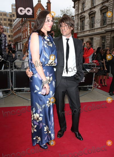 Alex James Photo - Claire James and Alex James arriving for the 2012 GQ Men Of The Year Awards Royal Opera House London 05092012 Picture by Henry Harris  Featureflash