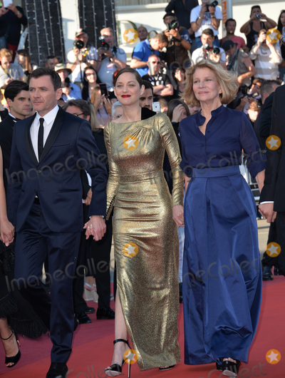 Alex Brendemuhl Photo - Director Nicole Garcia  actors Alex Brendemuhl  Marion Cotillard at the gala premiere of From the Land of the Moon (Mal de Pierres) at the 69th Festival de CannesMay 15 2016  Cannes FrancePicture Paul Smith  Featureflash
