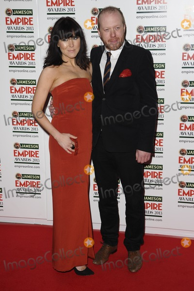 Alice Lowe Photo - Alice Lowe and director Steve Oram arrives for the Empire Film Awards 2013 at the Grosvenor House Hotel London 24032013 Picture by Steve Vas  Featureflash