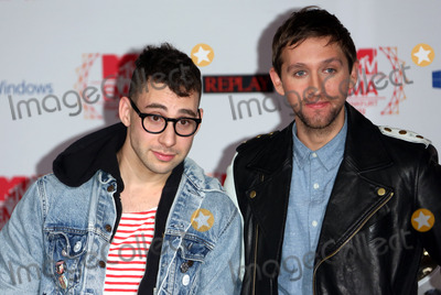 Andrew Dost Photo - Andrew Dost Jack Antonoff from FUN at MTV EMAs 2012 - photocall held at Frankfurt City HallFrankfurt Germany 10112012 Picture by Henry Harris  Featureflash