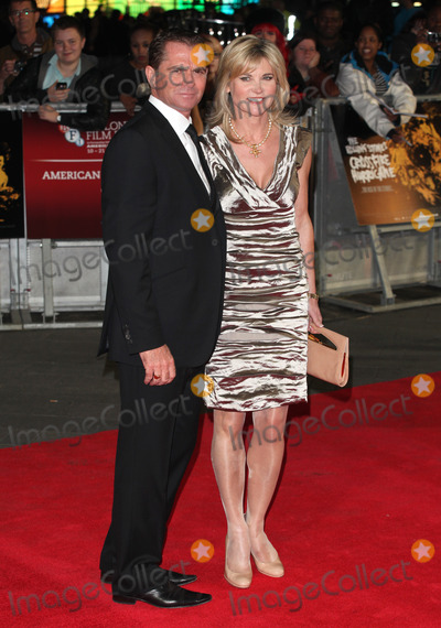 Grant Bovey Photo - Anthea Turner and Grant Bovey arriving the Premiere of Crossfire Hurricane during the 56th BFI London Film Festival at Odeon Leicester Square London 18102012 Picture by Alexandra Glen  Featureflash