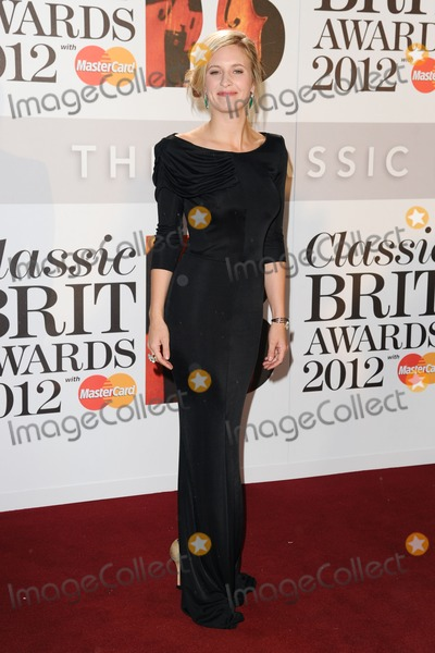 Alison Balsom Photo - Alison Balsom arriving for the Classic Brit Awards 2012 at the Royal Albert Hall London 02102012 Picture by Steve Vas  Featureflash