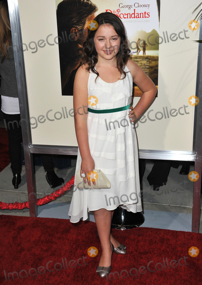 Amara Miller Photo - Amara Miller at the Los Angeles premiere of her new movie The Descendants at the Samuel Goldwyn Theatre in Beverly HillsNovember 15 2011  Beverly Hills CAPicture Paul Smith  Featureflash