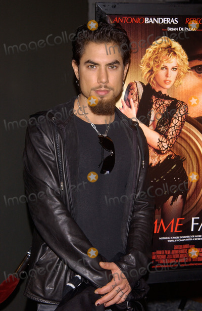 Dave Navarro Photo - Rock star DAVE NAVARRO at the US premiere in Hollywood of Femme Fatale04NOV2002   Paul Smith  Featureflash