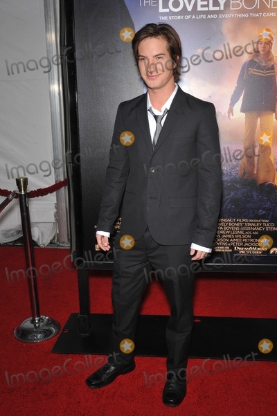 Andrew James Allen Photo - Andrew James Allen at the Los Angeles premier of his new movie The Lovely Bones at Graumans Chinese Theatre HollywoodDecember 7 2009  Los Angeles CAPicture Paul Smith  Featureflash