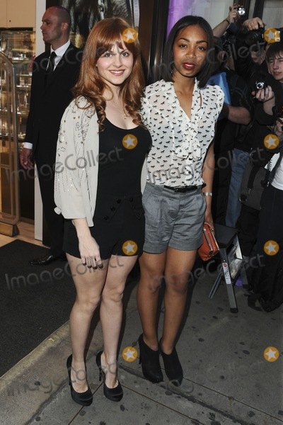 Tina OBrien Photo - Tina OBrien and Zaarah Abrahams arrives for the Pixie Lott for Lipsy party at Swarovski London 21042011  Picture by Steve Vas  Featureflash