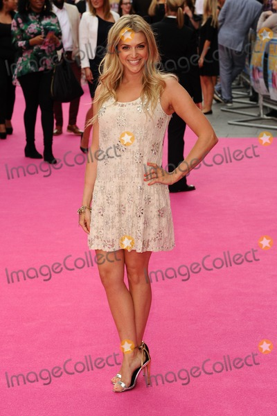 Anna Williamson Photo - Anna Williamson arrives for the Walking on Sunshine premiere at the Vue Cinema Leicester Square London 11062014 Picture by Steve Vas  Featureflash