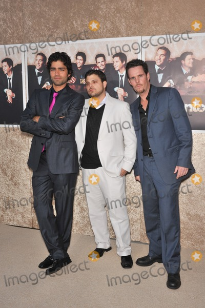 Adrien Grenier Photo - LtoR Adrien Grenier Jerry Ferrara  Kevin Dillon at the premiere for the sixth season of the HBO TV series Entourage at Paramount Studios HollywoodJuly 9 2009  Los Angeles CAPicture Paul Smith  Featureflash