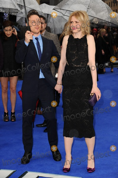 Anne Marie Duff Photo - James McAvoy and wife Anne Marie Duff arriving for the X-Men Days of Future Past UK premiere at the Odeon Leicester Square London 12052014 Picture by Steve Vas  Featureflash