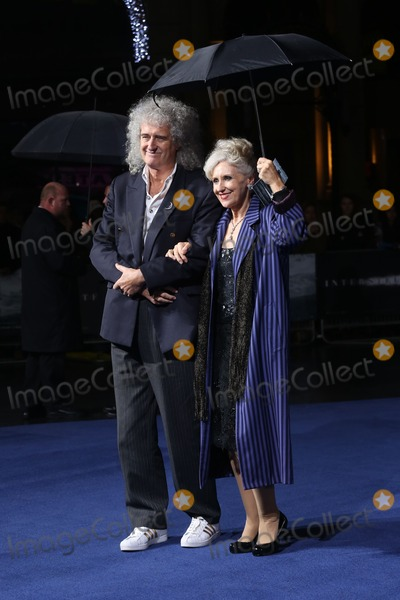 Anita Dobson Photo - Brian May Anita Dobson arriving for the Interstellar UK film premiere held at the Odeon Leicester Square London 29102014 Picture by James Smith  Featureflash