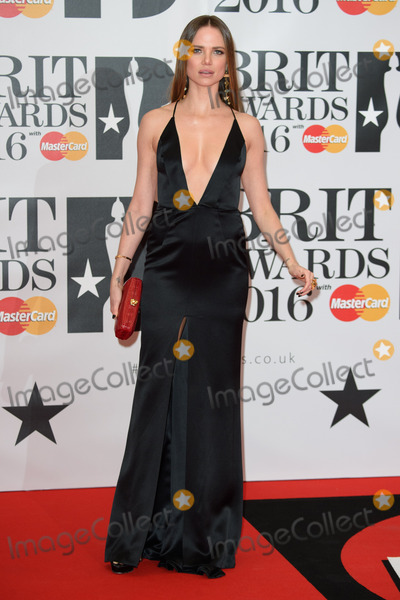 Alicia Rountree Photo - Alicia Rountree at The BRIT Awards 2016 at the O2 Arena LondonFebruary 24 2016  London UKPicture Steve Vas  Featureflash