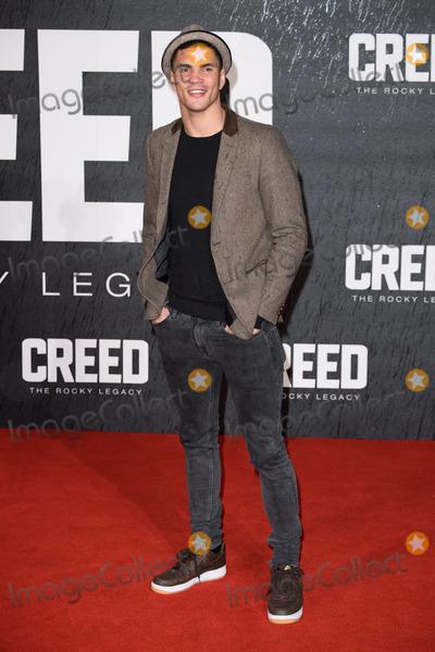 Anthony Ogogo Photo - Anthony Ogogo at the UK premiere of Creed The Rocky Legacy at the Empire Leicester Square London January 12 2016  London UKPicture Steve Vas  Featureflash