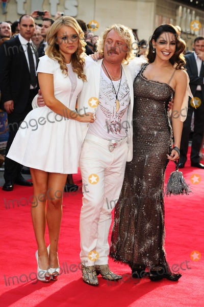 Rosie Parker Photo - Rosie Parker Leigh Francis and Kelly Brook arriving for the premiere of Keith Lemon The Film at the Vue Cinema Leicester Square London 21082012 Picture by Steve Vas  Featureflash