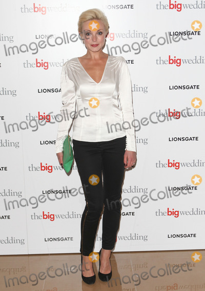 Helen George Photo - Helen George arriving for the The Big Wedding Screening at the May Fair Hotel London 23052013 Picture by Alexandra Glen  Featureflash