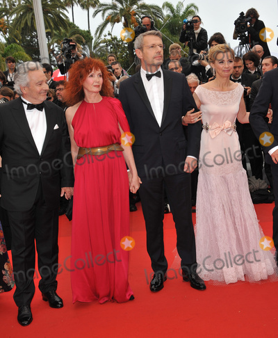 Anne Consigny Photo - Pierre Arditi (left) Sabine Azema Anne Consigny  Lambert Wilson at the gala screening for the French movie You Aint Seen Nothing Yet in competition at the 65th Festival de CannesMay 21 2012  Cannes FrancePicture Paul Smith  Featureflash