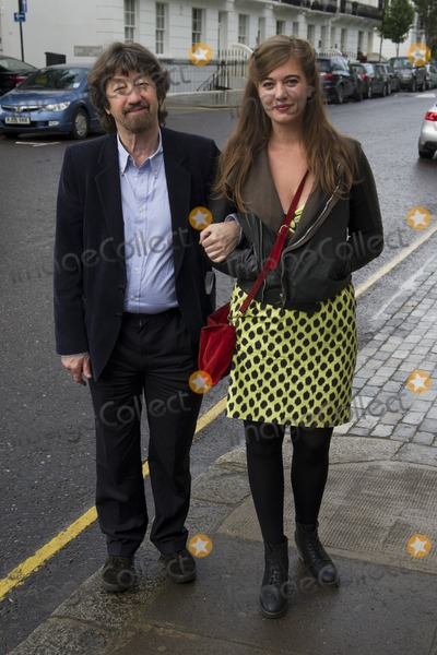 Trevor Nunn Photo - Trevor Nunn and daughter arriving for David Frosts Annual Garden Party held at the Royal Chelsea Hospital in London 10072012 Picture by Simon Burchell  Featureflash